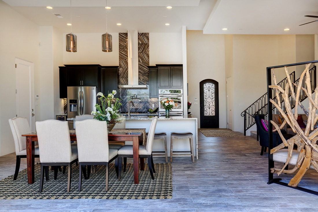 Eric Spurlock Custom Homes Dining On A Grand Scale